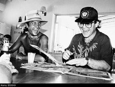 Birthday Bernie Taupin born 22 May 1950 Elton John with his co star lyricist Bernie Taupin seems happy onc