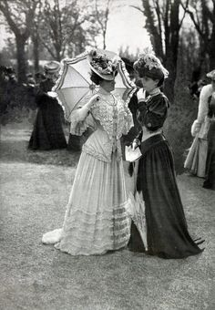 1905, Fashions at the races Les Modes Paris | In Pretty Finery