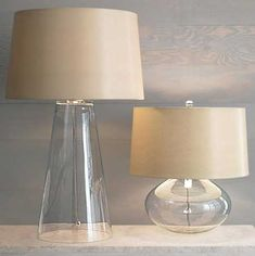 great glass lamps