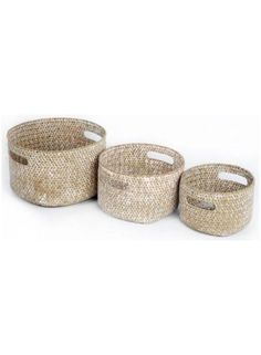 Woven Storage Baskets @ rosefields.co.uk