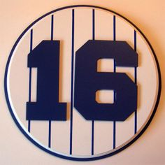 Retired Number 16 Plaque Yankees Whitey Ford - large