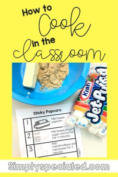I've gotten a LOT of questions about how to cook with little to no supplies in the classroom so I've decided to do a round up of info to give you everything you need to start cooking wi…