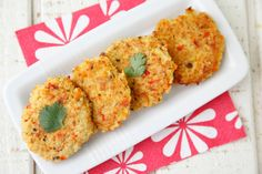 Millet Cakes from Weelicious