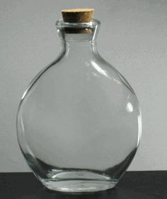 Glass bottles with corks glass bottles and corks on pinterest - What to put in glass bottles ...