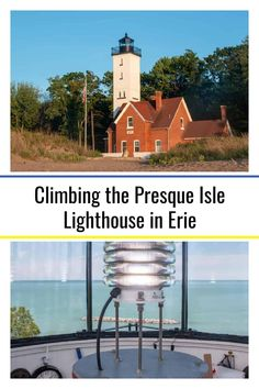 Climbing the Presque Isle Lighthouse in Erie, Pennsylvania Presque Isle State Park, Erie Pennsylvania, Things To Do Nearby, Winding Staircase, Local Festivals, Lighthouse Keeper, Great Lakes Region, Exotic Places, Adventure Awaits