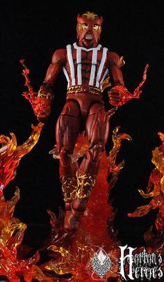 Marvel Legends Infinite Custom - Sunfire Uncanny Avengers
