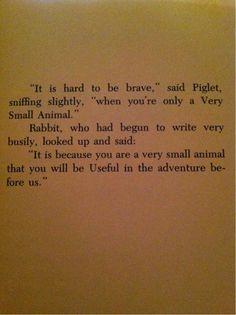 The Te Of Piglet Quotes   te of piglet   Tumblr