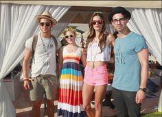 Anna Sophia Robb at Coachella 2013 wearing Mercura Daisy sunglases