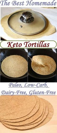 The Best Keto Tortillas Recipe THM-S These tortillas will lessen your desire for bread and pasta. Of course, taste is a little different, but unlike regular tortilla, these keto tortillas contain little carbohydrate. And this fact is important for us. Ketogenic Recipes, Low Carb Recipes, Diet Recipes, Ketogenic Diet, Paleo Diet, Vegan Keto, Keto Foods, 30 Diet, Gluten Free Vegan