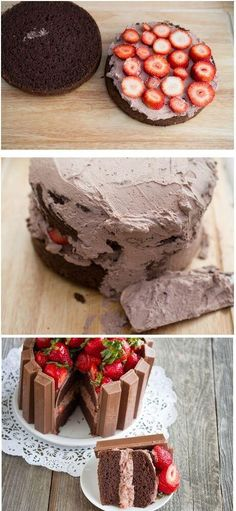 How to make kit kat cake.. Must try this soon