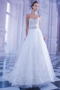 Illisa by Demetrios gown