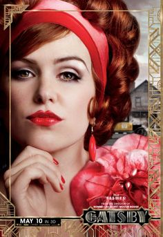 'The Great Gatsby'  - Isla Fisher #Australia #celebrities #IslaFisher Australian celebrity Isla Fisher loves http://www.kangafashion.com