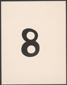 Arabische Act (Arabic Eight), plate 7 from 7 Arpaden von Hans Arp Jean (Hans) Arp (French and born Germany (Alsace). 1886-1966)