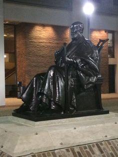 The Patterson Statue.