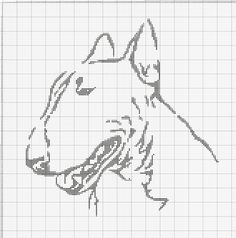 Gallery.ru / Фото #16 - собаки, схемы вышивок из интернета - poodel