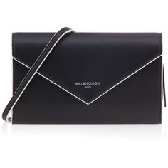 Balenciaga Zip Wallet with Strap ($477) ❤ liked on Polyvore featuring bags, wallets, zip close bags, zipper bag, zip bags, strap bag and zipper wallet
