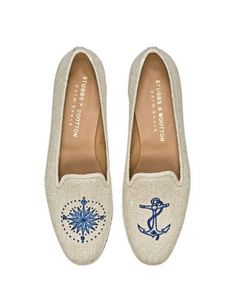 Shop the Trend: Anchors Aweigh : Lucky MagazineI love that the right and left are different!!