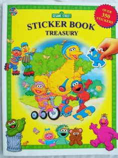 Amazon.com: Sesame Street Sticker Book Treasury