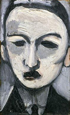 Portrait De George Besson, 1917 - Henri Matisse - WikiArt.org