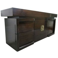 James Mont attrib. Dresser / Credenza | From a unique collection of antique and modern credenzas at https://www.1stdibs.com/furniture/storage-case-pieces/credenzas/