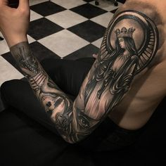 Full sleeve tattoo for man - 95 Awesome Examples of Full Sleeve Tattoo Ideas <3 <3