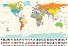 Παγκόσμιος Πολιτικός χάρτης