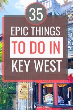 Florida Trail, Key West Florida, Florida Keys, Travel Tours, Usa Travel, Travel Ideas, Florida Vacation, Vacation Trips, 40th Birthday Trip Ideas