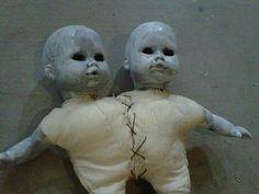 porcelain dolls - conjoined
