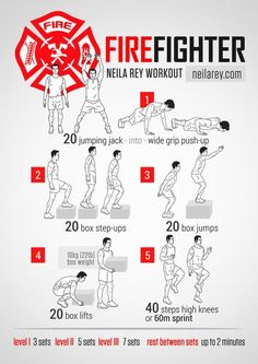 Firefighter Strength Workout by malinda