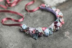 """Flowerband Aurelié from """"Those days in Paris""""-Collection is made by hand in our WE ARE FLOWERGIRLS-Atelier in Vienna and designed with artificial vintage-flowers. Made with flowers in soft pastels, rosé, red, pink and peach-colours ... and rosé ribbons, produced in Switzerland. Made to order. Flower Crown Bride, Bride Flowers, Wedding Flowers, Peach Colors, Colours, Soft Pastels, Vintage Flowers, Vienna, Ribbons"""