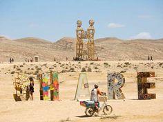Kreatives Festival mitten in der Wüste: 8000 Menschen zelebrieren das Midburn-Festival in Israel | Blick