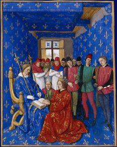 Jean Fouquet, Hommage d'Édouard Ier à Philippe le Bel