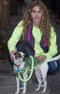 Häkelmuster für Reflektierender Hundemantel mit Leine
