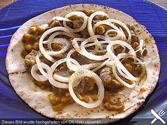 Afghanisches Zwiebelfleisch auf Fladenbrot (Rezept mit Bild) | Chefkoch.de