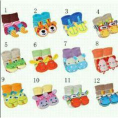 Gerber rattle socks 0-12mos 1lsn - 280rb