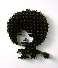 Angela Davis/'1000 Lashes'