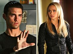 milo ventimiglia & hayden panettiere from heroes Netflix Series, Tv Series, Movies Showing, Movies And Tv Shows, Hero Tv Show, Kol Mikaelson, Heroes Reborn, Milo Ventimiglia, Bad To The Bone