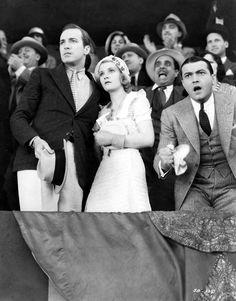 David Manners, Helen Chandler and  Richard Barthelmess in The Last Flight, 1931