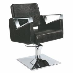 Customized Black Hydraulic Swivel Salon Hair Styling Chair for Barber Shop Hairdressing Equipment, Hairdressing Chairs, Salon Mirrors, Beauty Salon Equipment, Salon Chairs, Salon Furniture, Makeup Salon, Contemporary Dining Chairs, Barber Shop