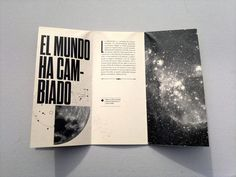 """Pieza experimental desplegable sobre el capitulo """"El infinito, ahora"""" del libro """"Con la esperanza entre los dientes"""" de John Berger. - Por Boris Vargas Vasquez"""