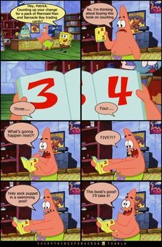 you can count on me sharing more patrick puns