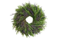 """16"""" Lavender & Rosemary Wreath, Dried"""