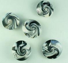 Swirl kralen van Fimo