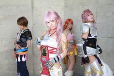 Final Fantasy XIII-2 - Noel Kreiss, Serah Farron, Oreba die Vanille, Lightning Farron