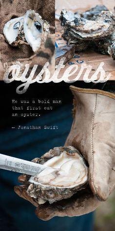 Oyster Poster, Wall Art, Kitchen Art, Rustic Food Photography, Photo Print, Louisiana, Cajun, Seafood Print on Etsy, $35.00