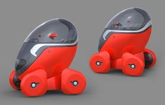 Electric Vehicle, City Egg by Tomasz Mikrut, One-Seater Vehicle