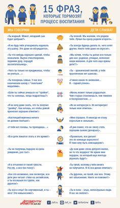 Узнать и забыть. 15 фраз, которые тормозят процесс воспитания | Здоровье ребенка | Здоровье | Аргументы и Факты