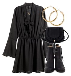 """Untitled #6531"" by laurenmboot ❤ liked on Polyvore featuring H&M, Acne Studios and Chloé"