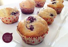 Morning Blackberry Muffins