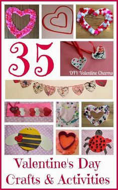 35 Valentine Crafts & Activities for Kids || The Chirping Moms